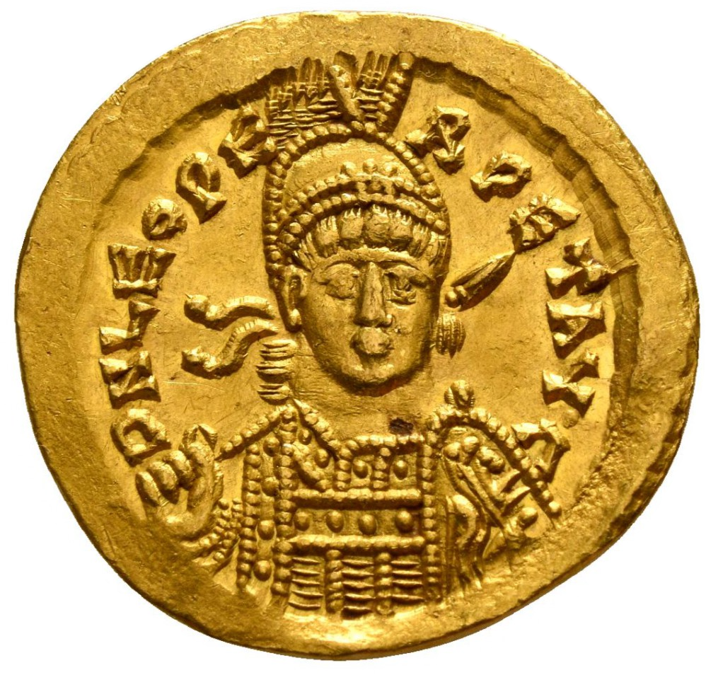 Leo I AD 457-474. Struck AD 462 or 466. Constantinople. 3rd officina